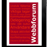 Webbforum i iPhone