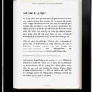iPad och e-bok