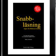 Boken Snabbläsning finns nu som e-bok