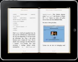 E-bok och iPad