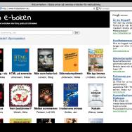 Skärmavbild Hitta e-boken