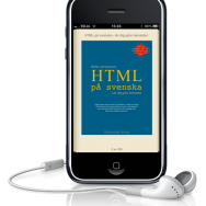 HTML på svenska har kommit ut som bok